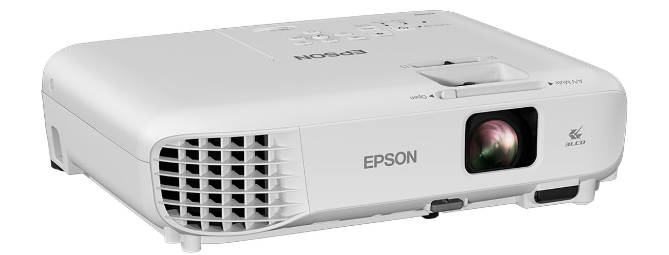 Epson EB-W05 Obraz O Przekątnej 350''