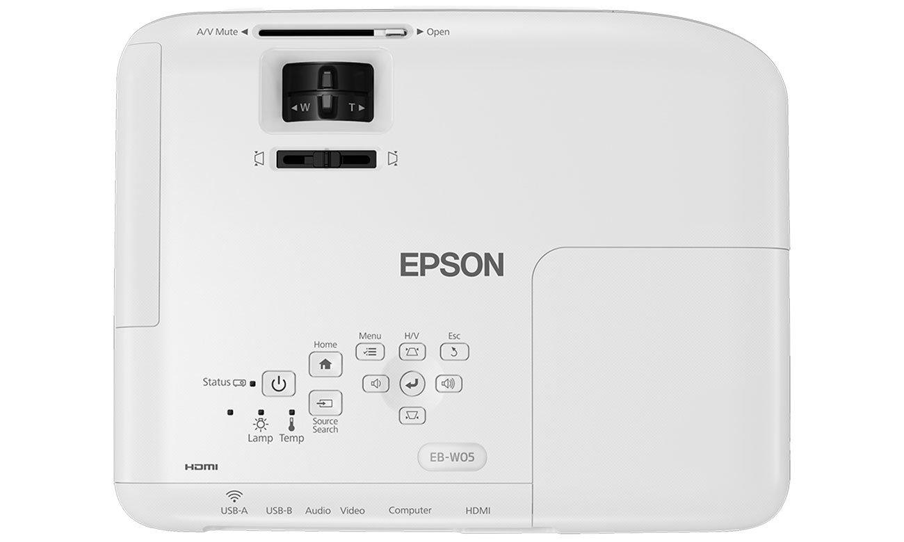 Epson EB-W05 Ustawienia