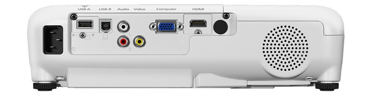 Epson EB-W05 Złącza