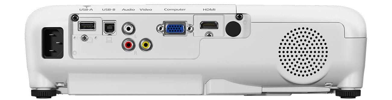Epson EB-S41 Złącza