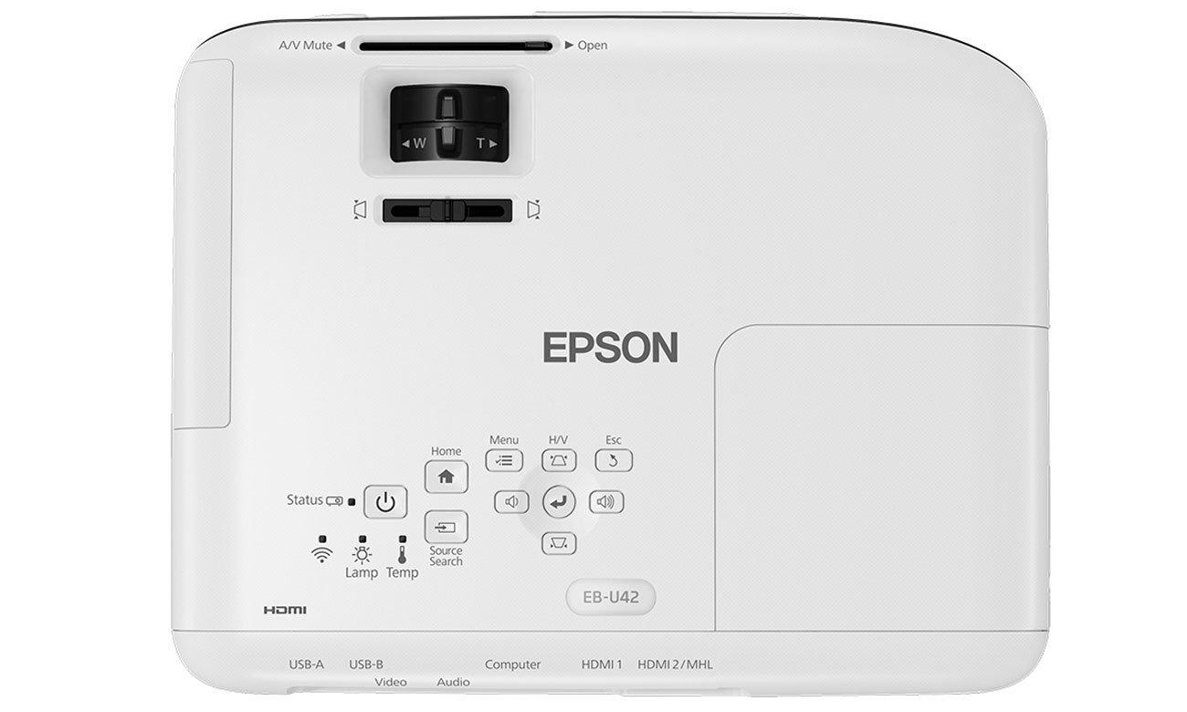 Epson EB-U42 Ustawienia