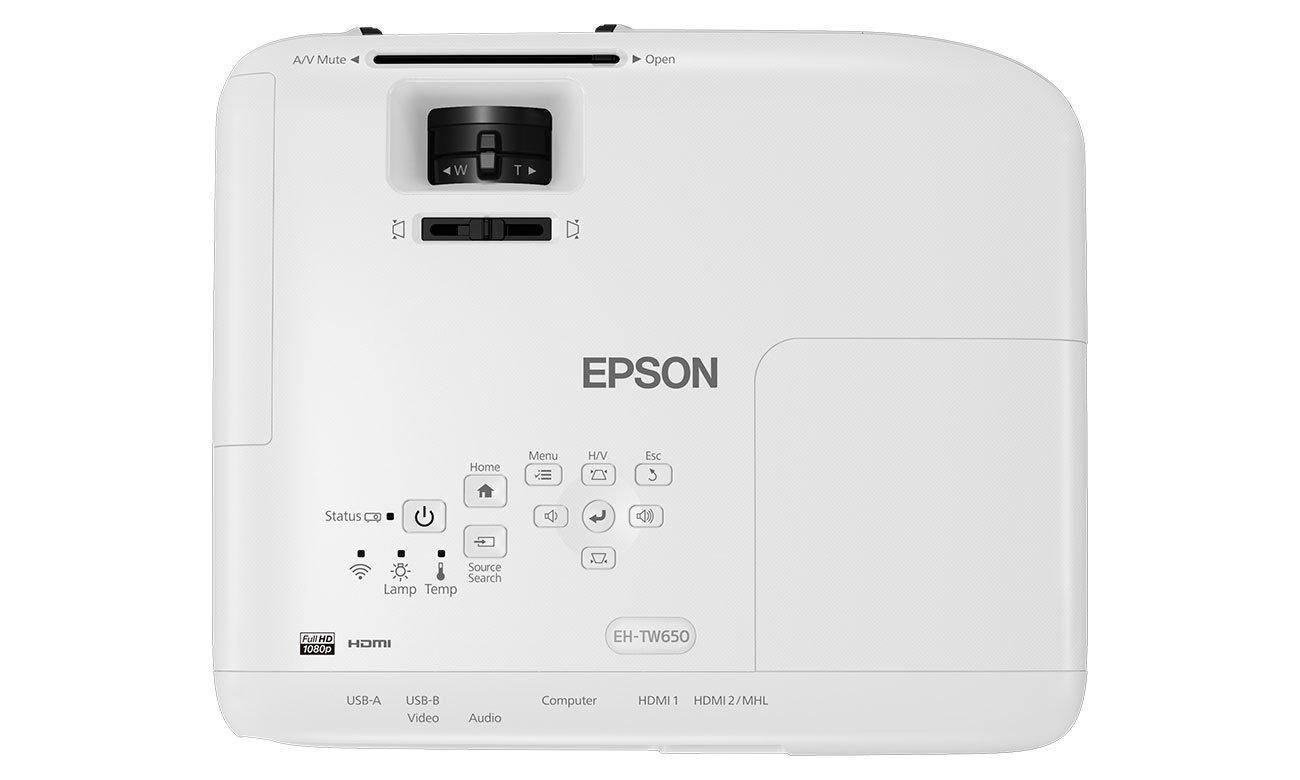Epson EH-TW650 Rozdzielczość Full HD