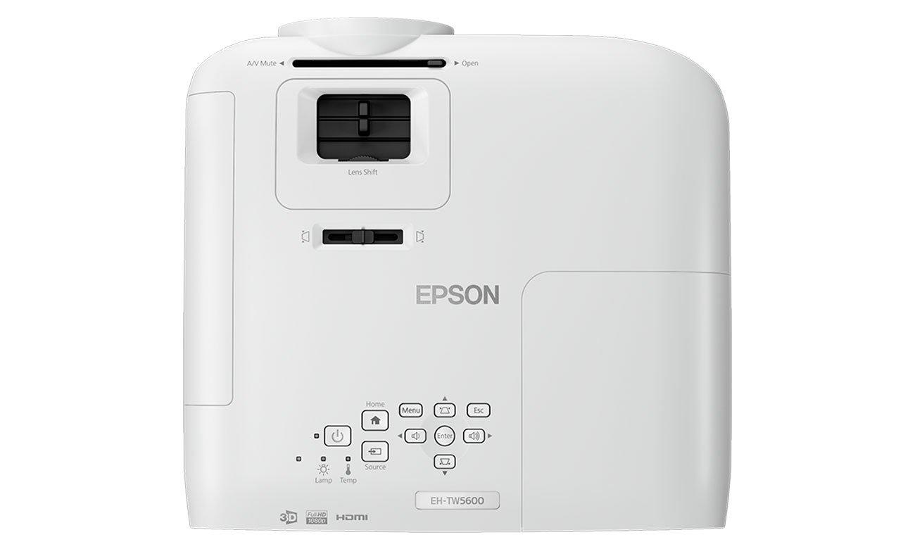 Epson EH-TW5600 Łatwa Obsługa