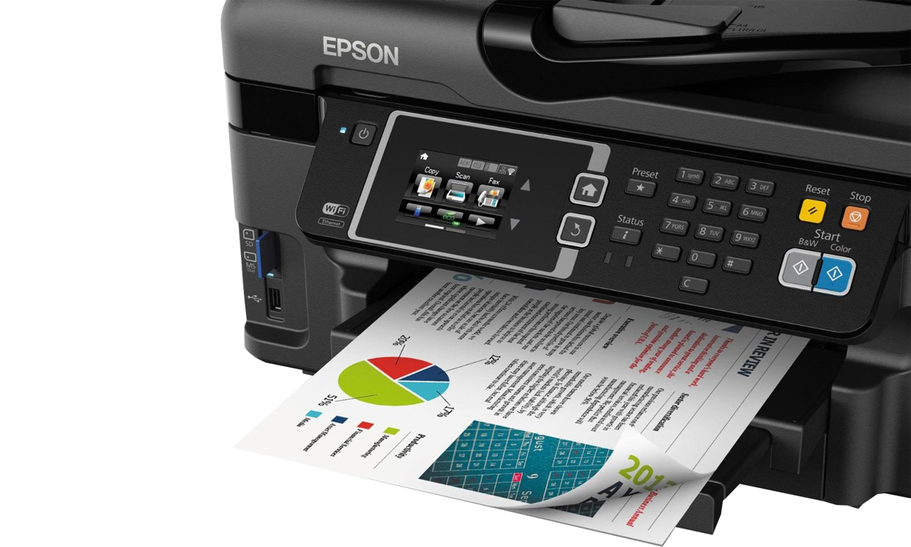 Epson WorkForce WF-3620DWF wydruk