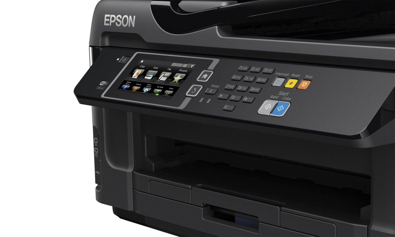 Epson WorkForce WF-7610DWF drukowanei bezprzewodowe