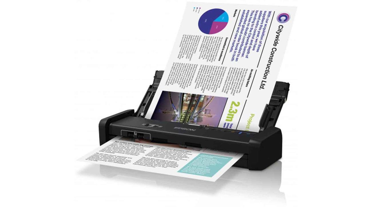 Epson WorkForce DS-360W Kompaktowy Rozmiar