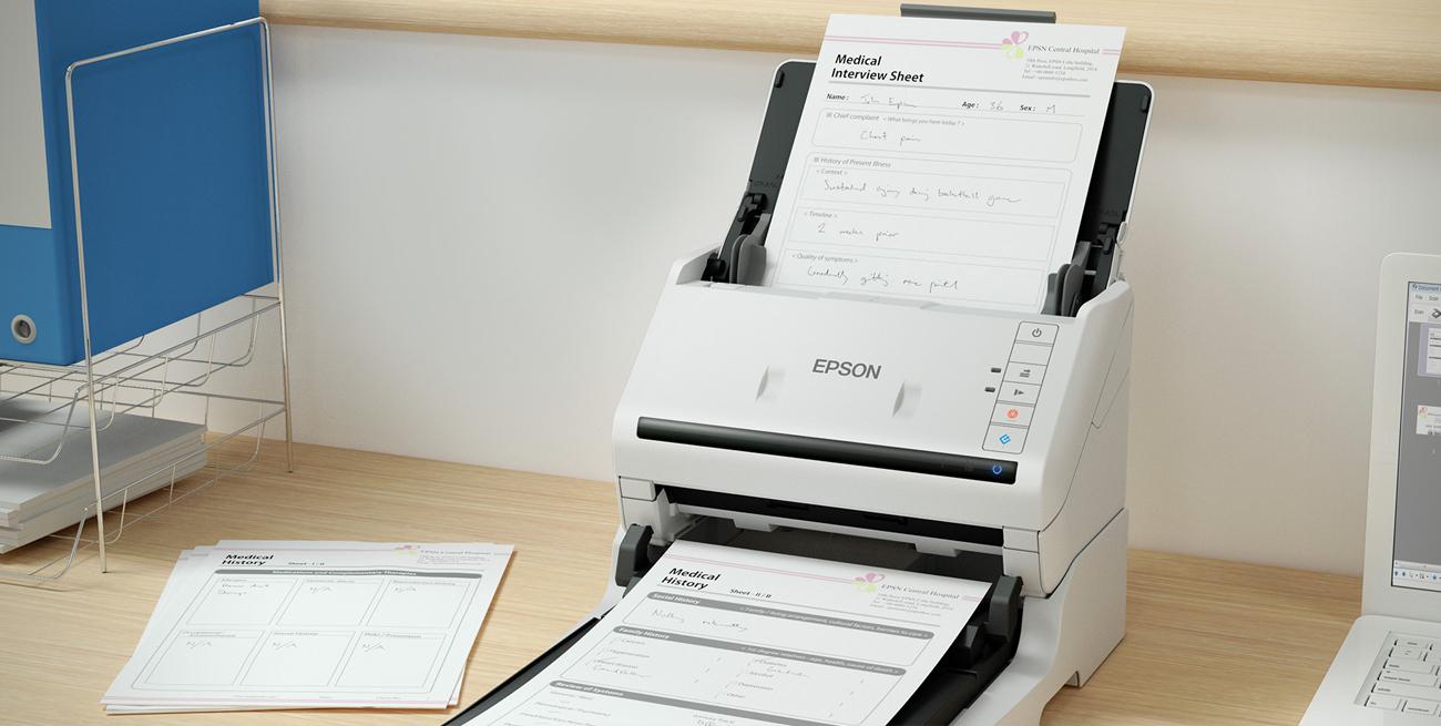 Epson WorkForce DS-530 Skanowanie Płaskie