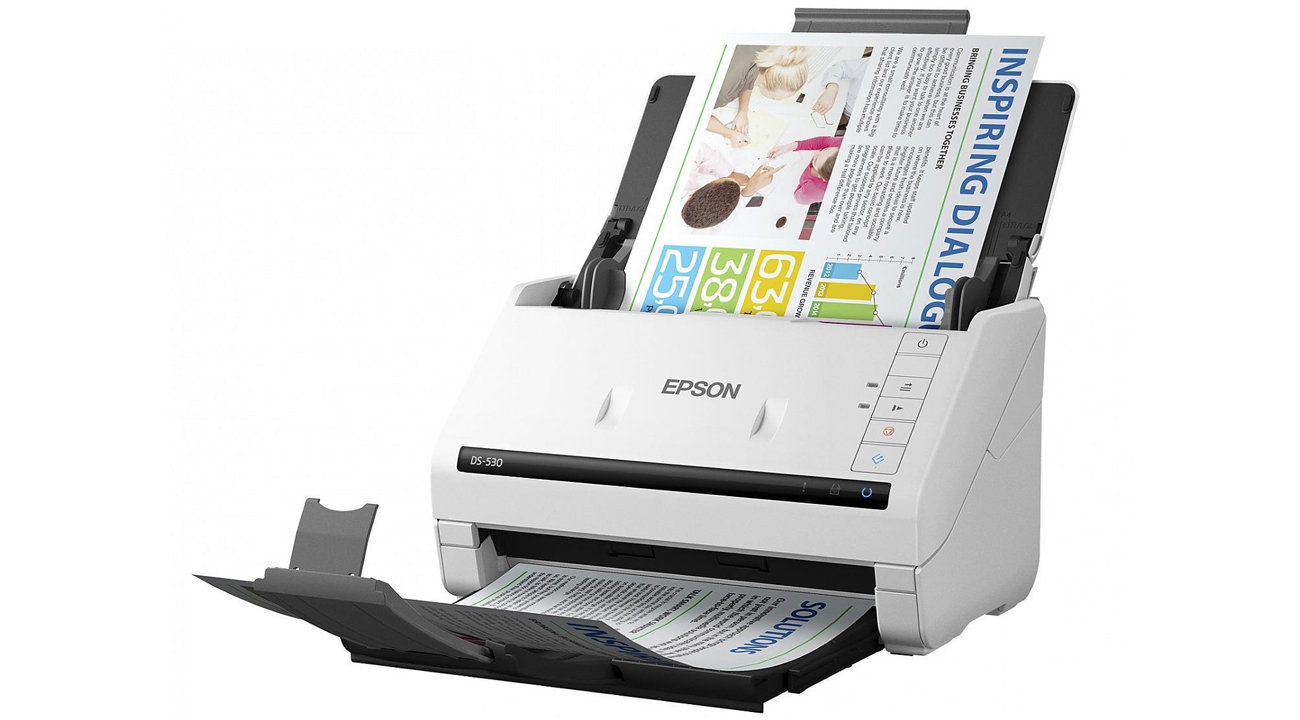Epson WorkForce DS-530 Technologia Obrazowania