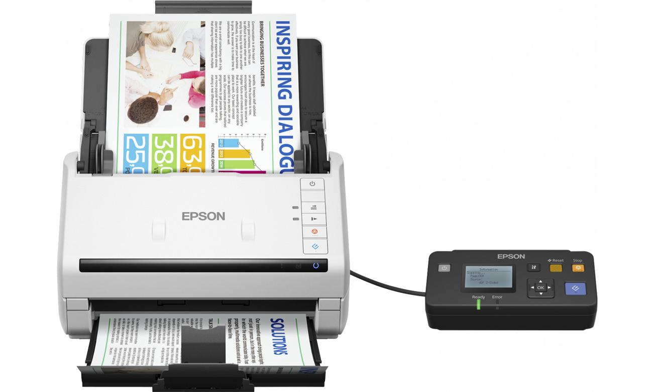 Epson WorkForce DS-530 Technologie