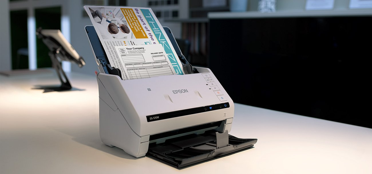 Epson WorkForce DS-570W Technologia Obrazowania