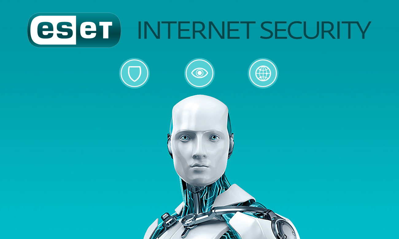 ESET Internet Security 2018 Kompletna ochrona komputera podłączonego do Internetu