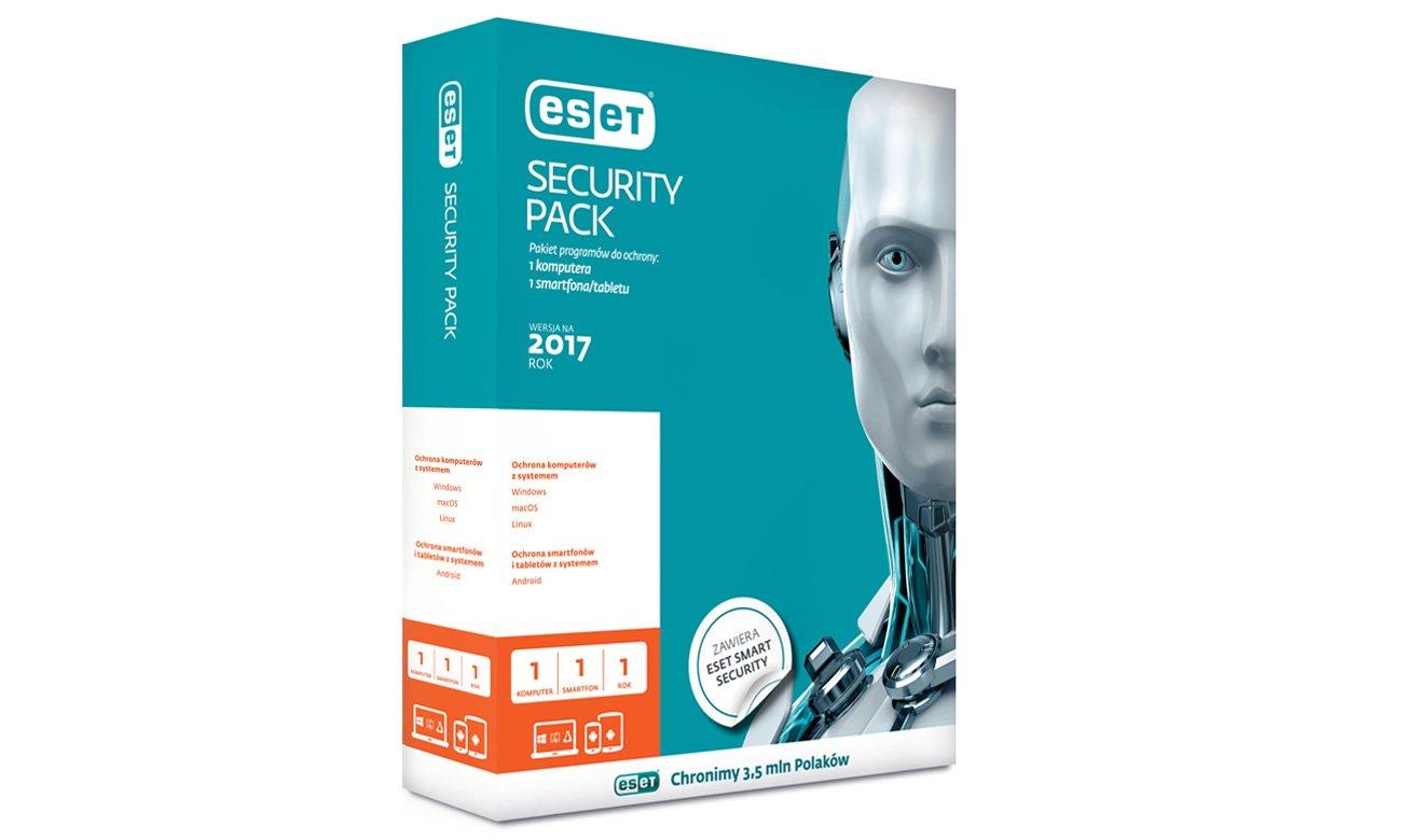 Eset Security Pack ESD Pakiet rozwiązań do ochrony Twoich urządzeń