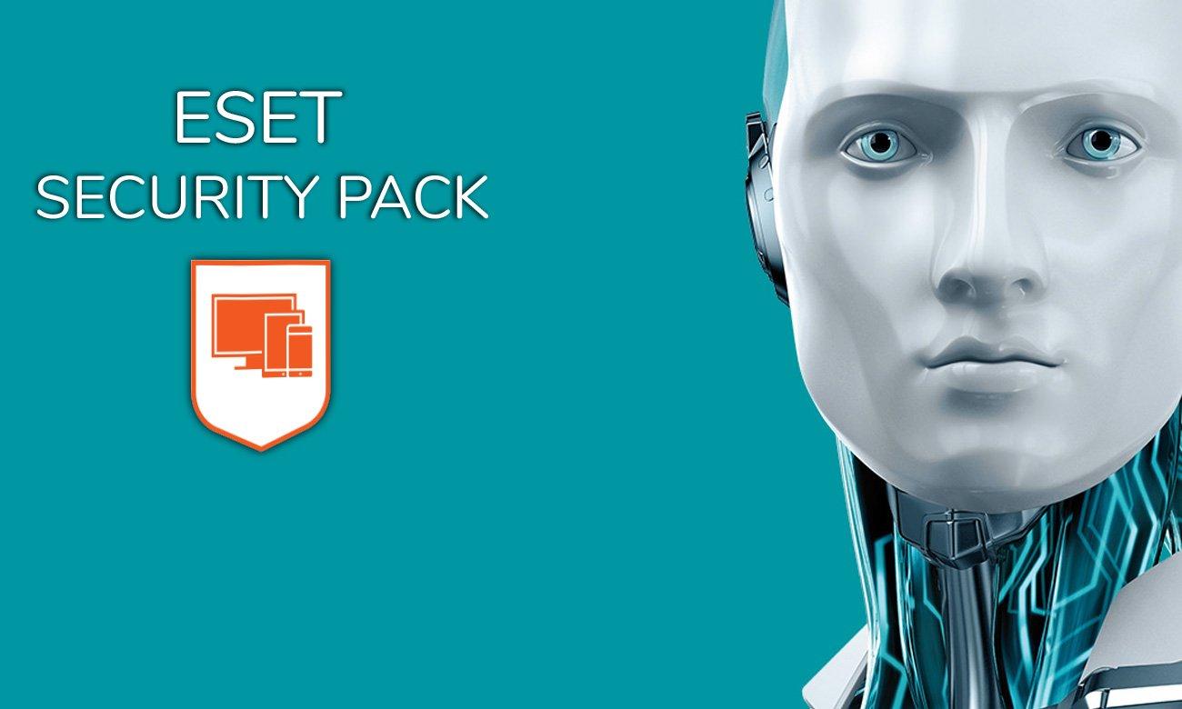 Eset Security Pack ESD Kompletna ochrona i wysoka wydajność
