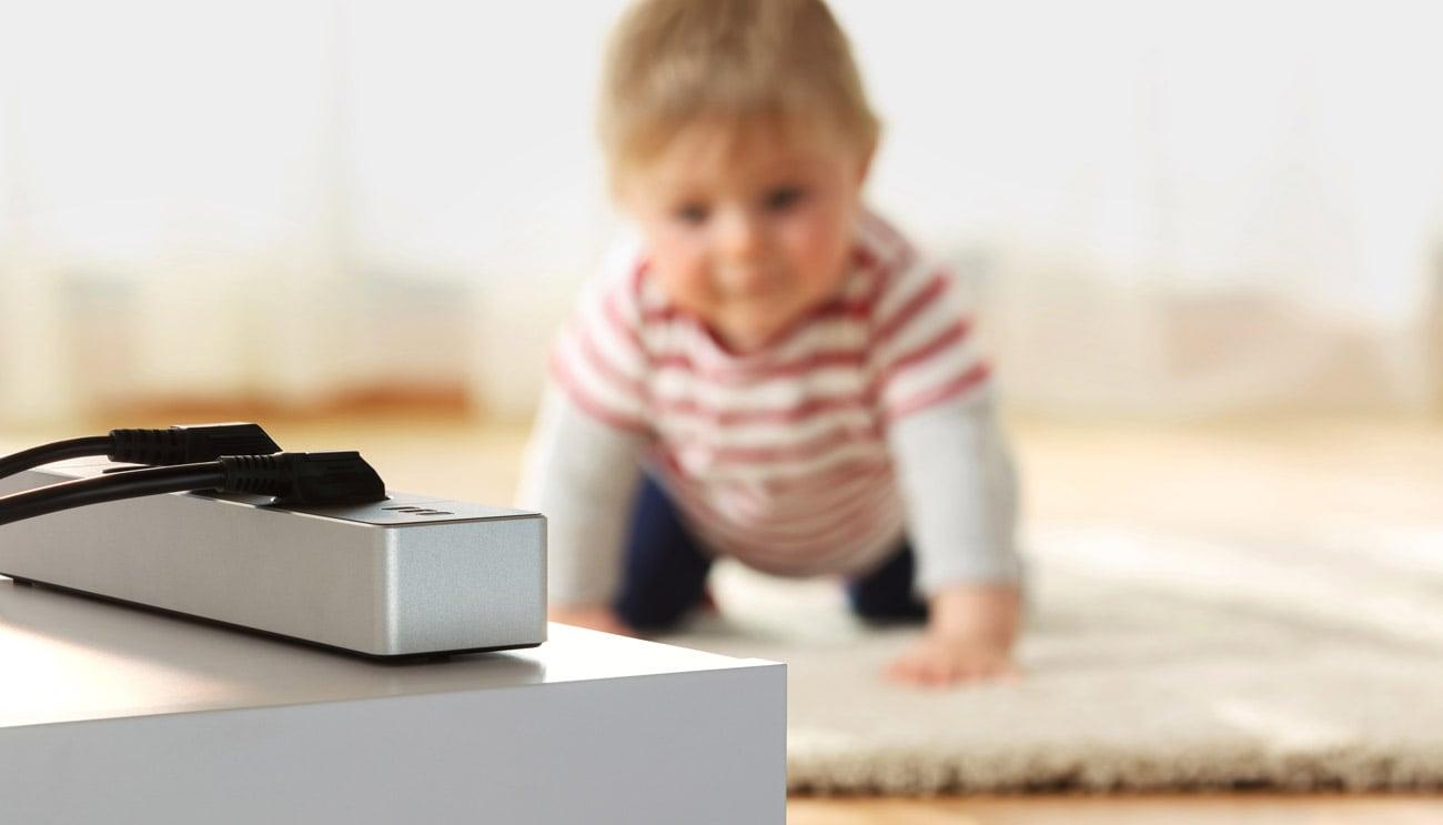Zabezpiecz urządzenia przed dziećmi