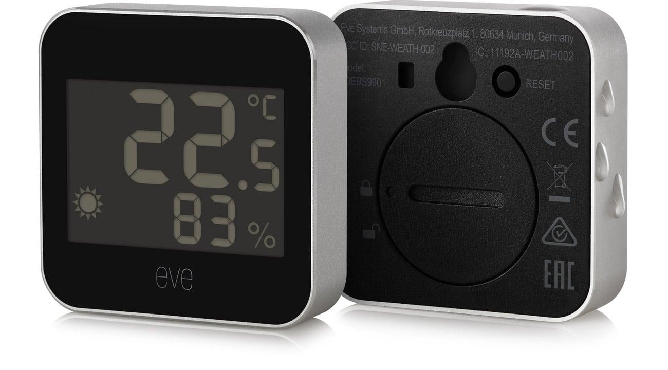 Monitor temperatury i wilgotności Eve Weather