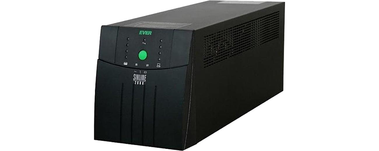Zasilacz awaryjny UPS Ever Sinline 1200 1200VA/780W 6xIEC USB RACK W/SL00RM-001K20/04
