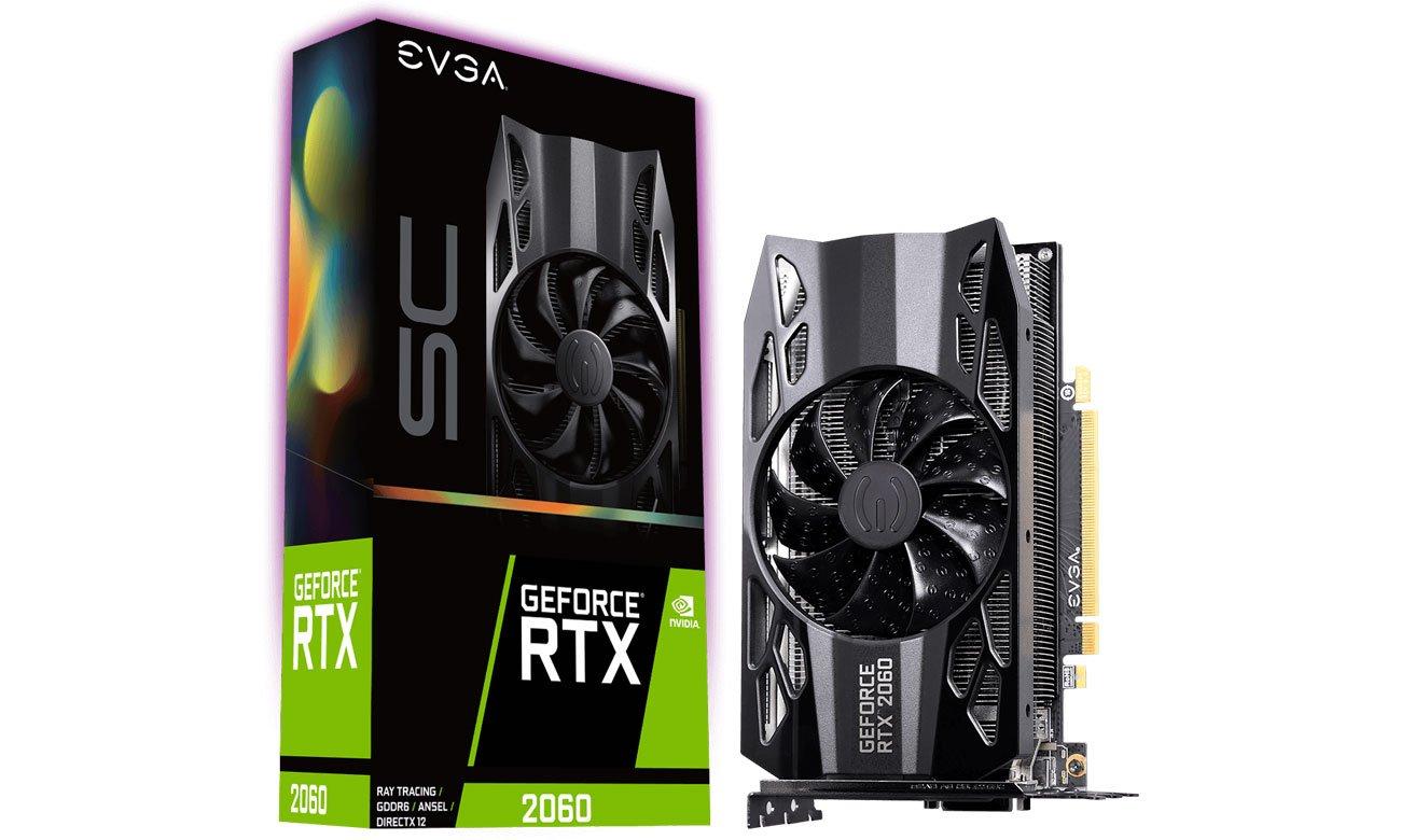 EVGA GeForce RTX 2060 SC OC 6GB GDDR6 06G-P4-2062-KR