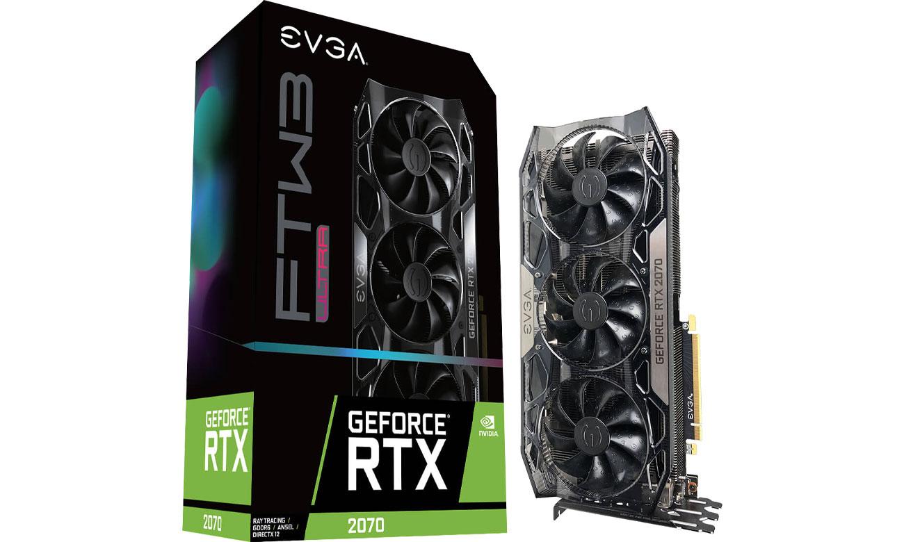 Karta graficzna EVGA GeForce RTX 2070 FTW3 ULTRA GAMING 8GB GDDR6 08G-P4-2172-KR