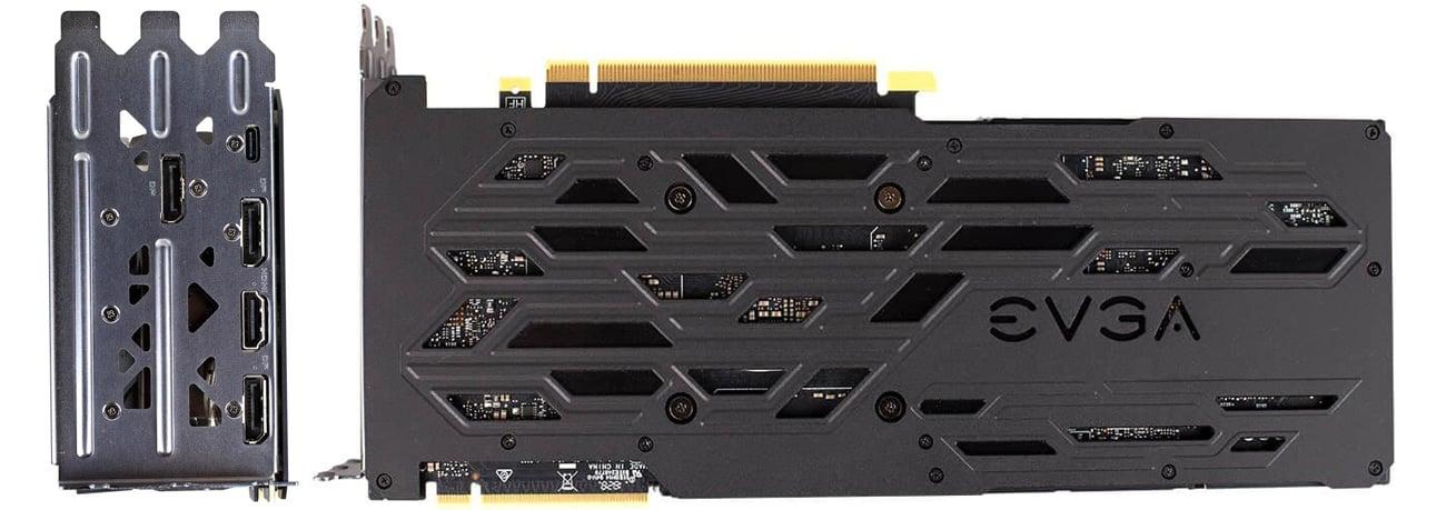 GeForce RTX 2080 Ti XC ULTRA 11GB GDDR6  tył karty