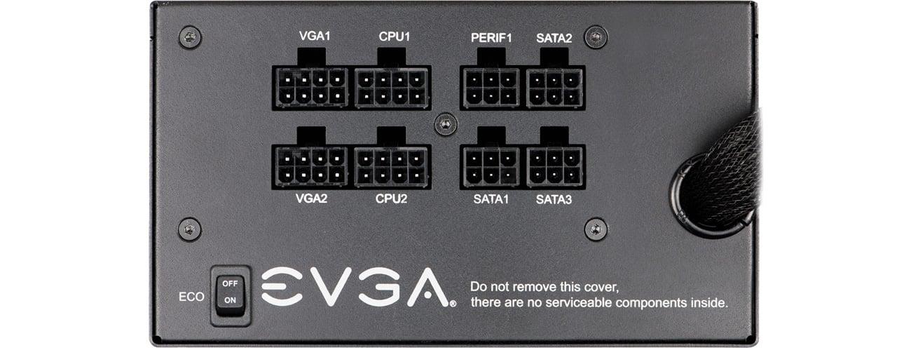 Zasilacz do komputera EVGA SuperNOVA GQ 650W 80 Plus Gold
