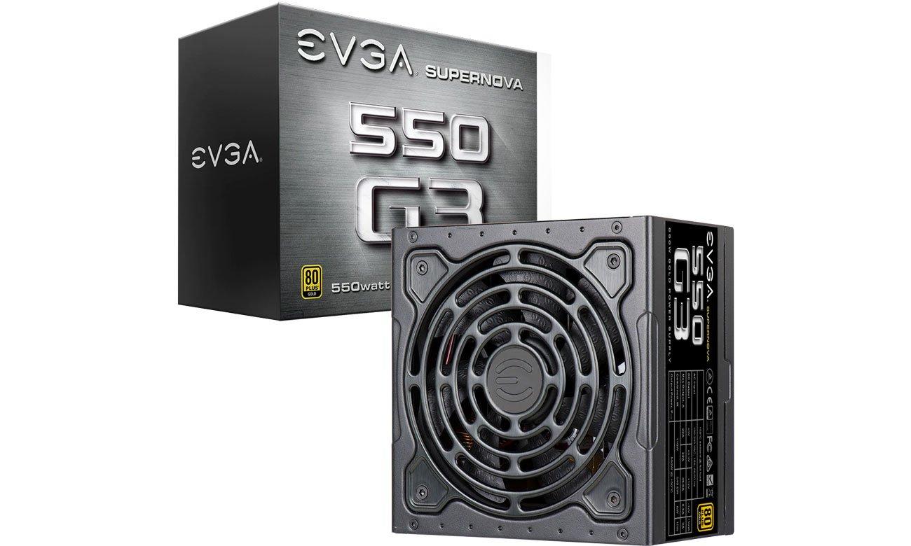Zasilacz do komputera EVGA SuperNOVA G3 550W 80 Plus Gold 220-G3-0550-Y2