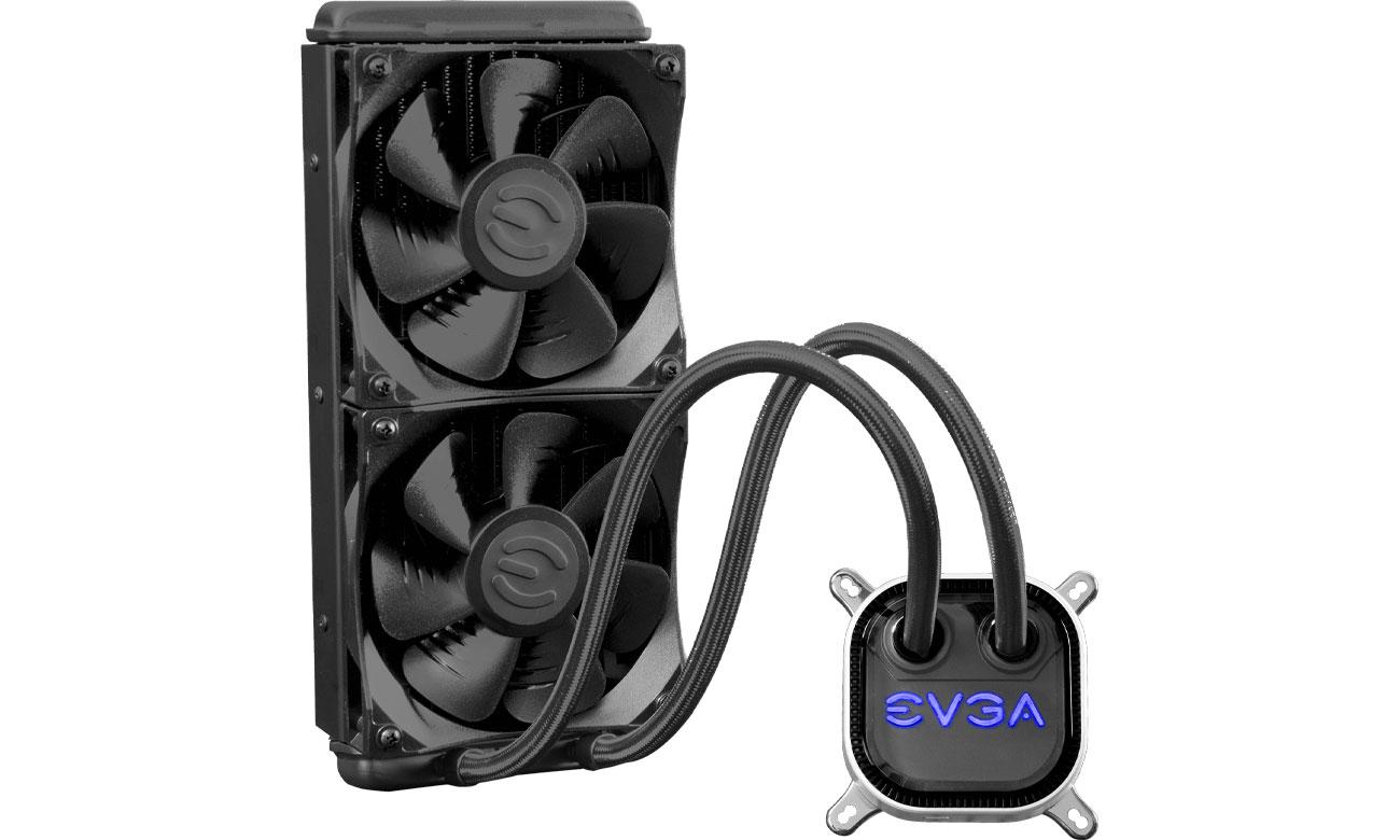 Chłodzenie procesora EVGA CLC 240mm 2x120mm 400-HY-CL24-V1