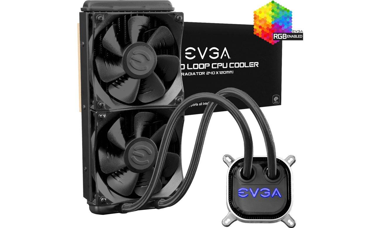 EVGA CLC 240mm 2x120mm