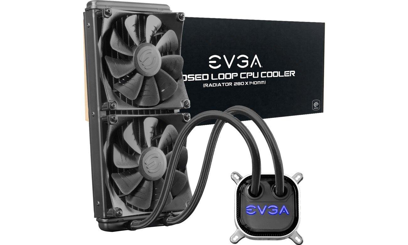 Chłodzenie procesora EVGA CLC 280mm 2x140mm 400-HY-CL28-V1