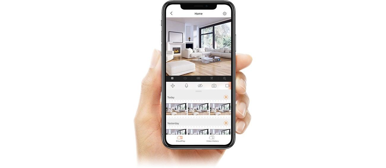 EZVIZ C6N - Aplikacja mobilna