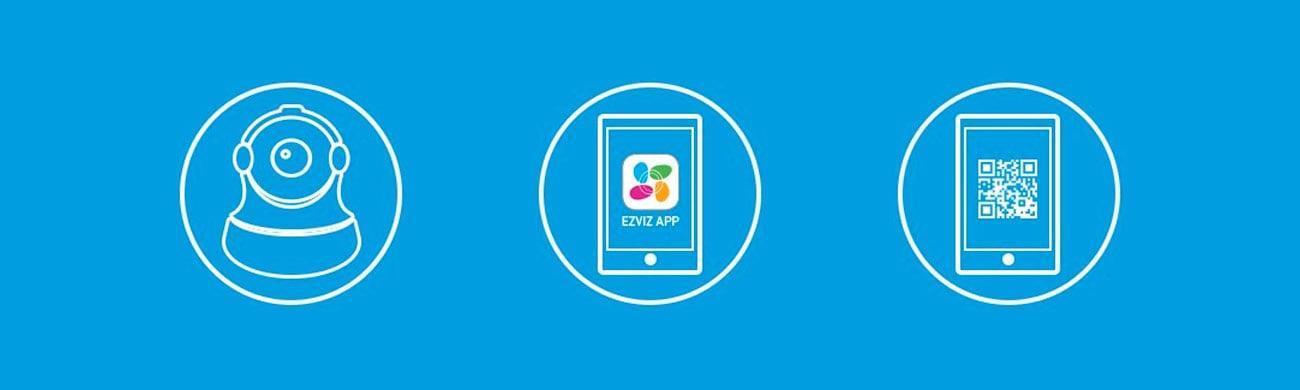 EZVIZ C6T Aplikacja mobilna