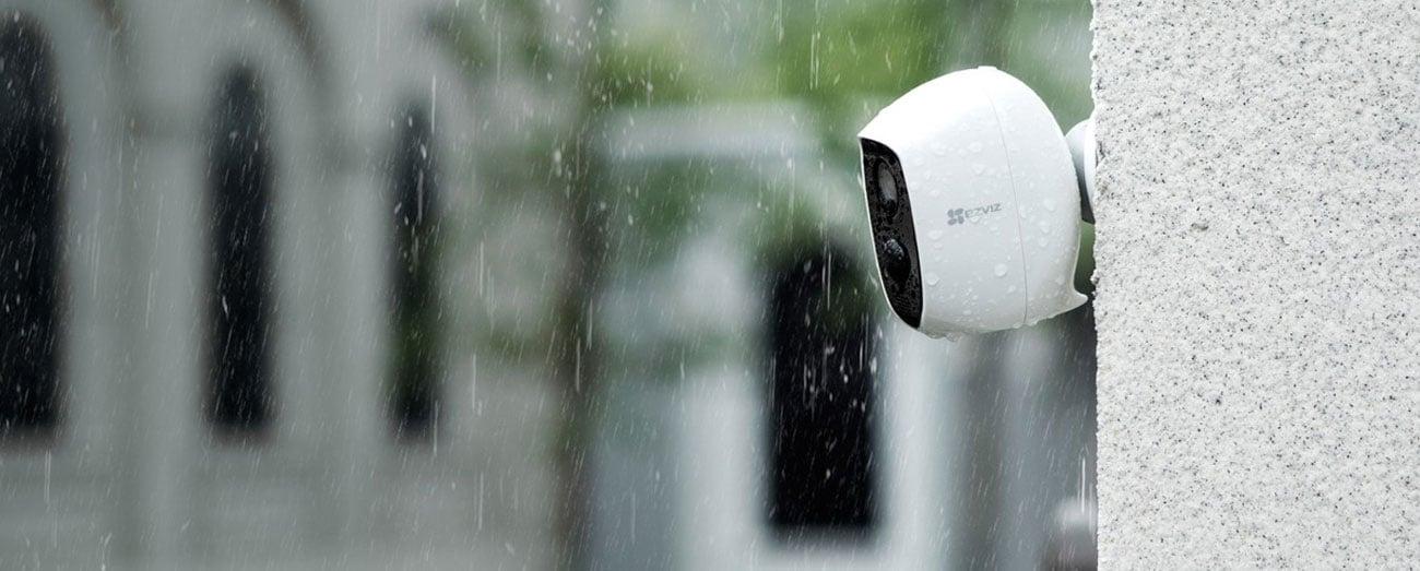 Kamera IP EZVIZ C3A 1080P FullHD LED IR (dzień/noc) z baterią CS-C3A-A0-1C2WPMFBR