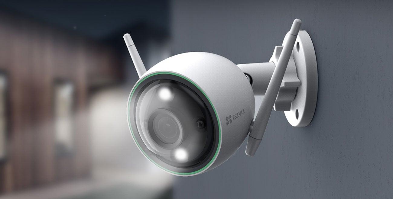 Inteligentna kamera EZVIZ C3N ColorNightVision Ai FullHD LED IR IP67 CS-C3N-A0-3H2WFRL(2.8MM)