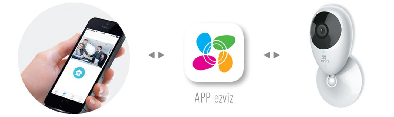 Aplikacja Ezviz Mobile