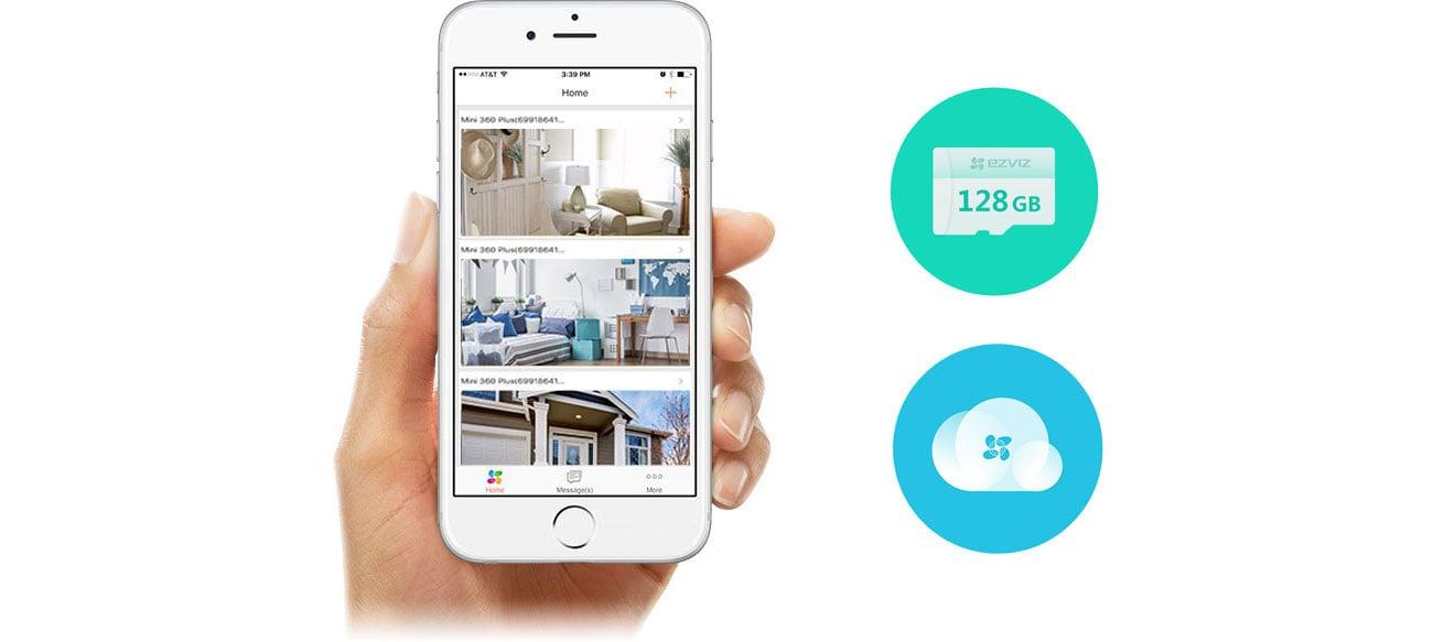 EZVIZ LC1 Aplikacja mobilna