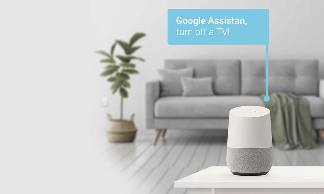 Połączenie z urządzenie Google