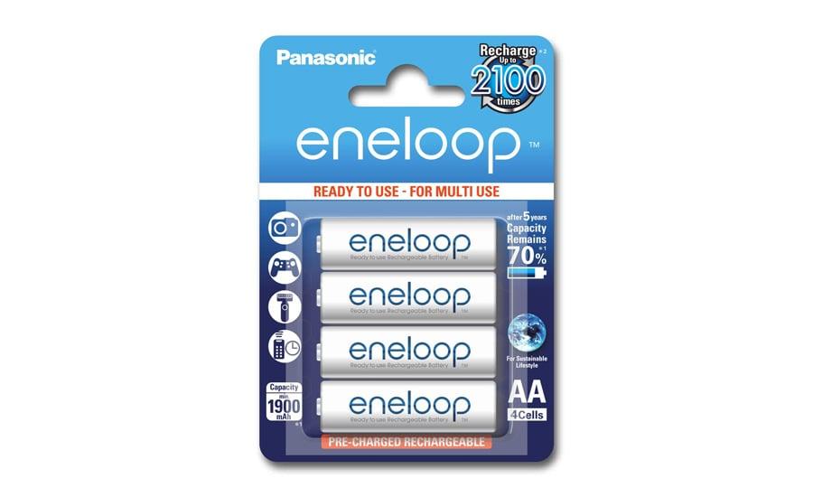 Ładowarka Panasonic BQ-CC87 + 4xAA Eneloop