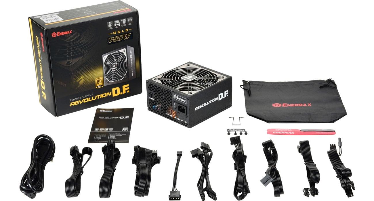 Enermax Revolution DF 750W 80 Plus Gold ERF750EWT