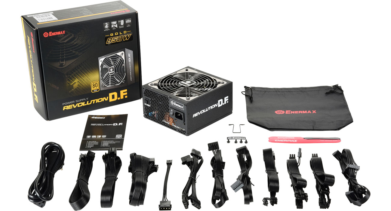 Enermax Revolution DF 850W 80 Plus Gold ERF850EWT