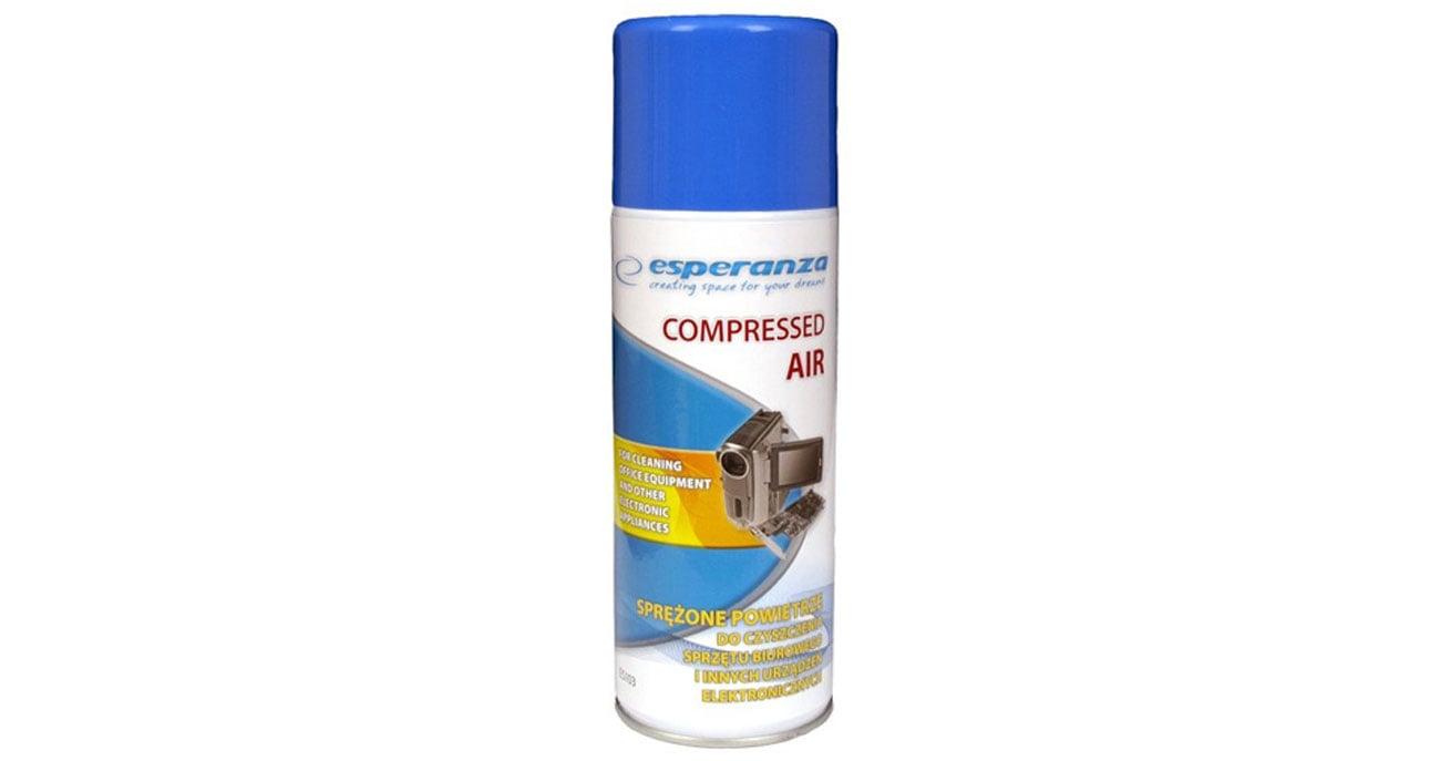 Esperanza Sprężone powietrze 400ml ES103 elektronika
