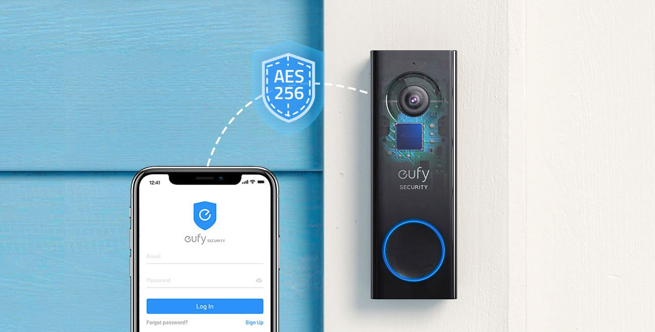 Eufycam EUFY VIDEO DOORBELL Wideodomofon 2K