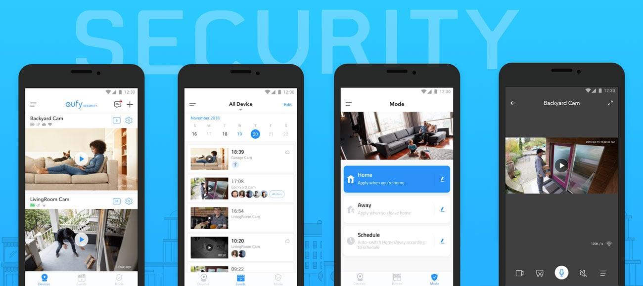 eufyCam - Aplikacja Eufy Security
