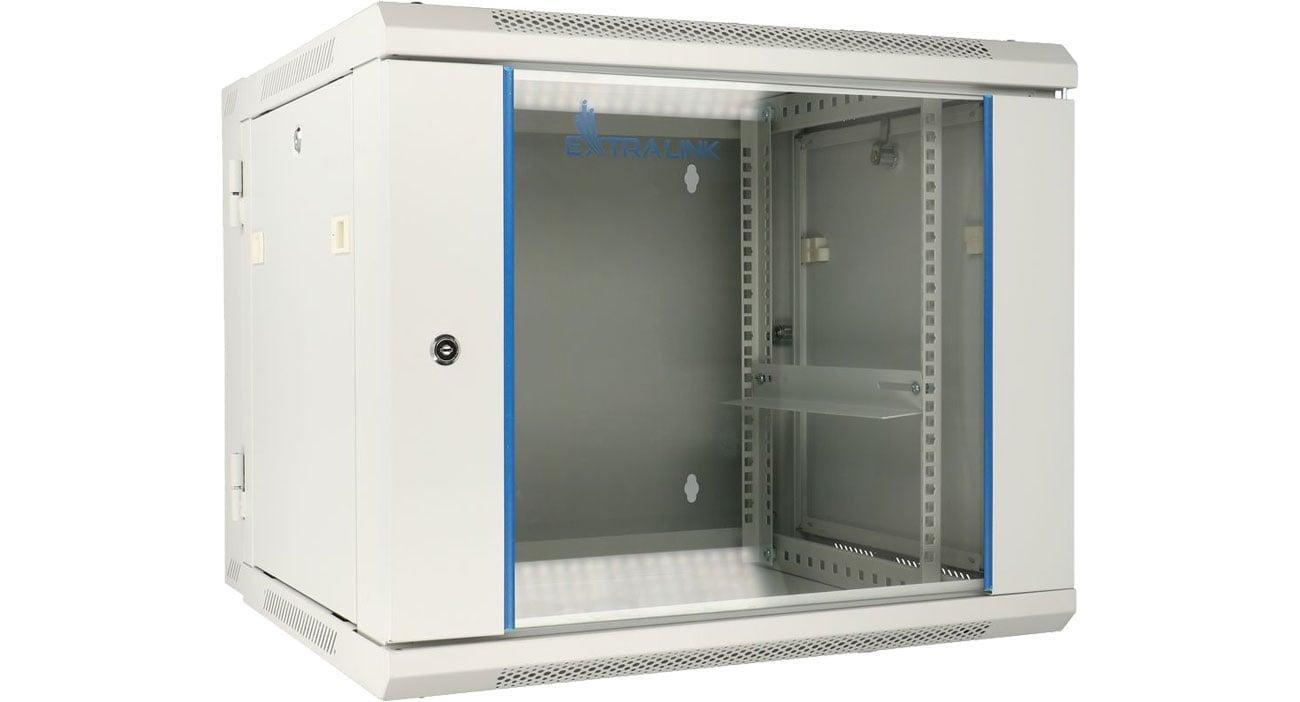 Szafa RACK ExtraLink Wisząca 19'' 12U 600x600mm dwusekcyjna (szara) EX.12912