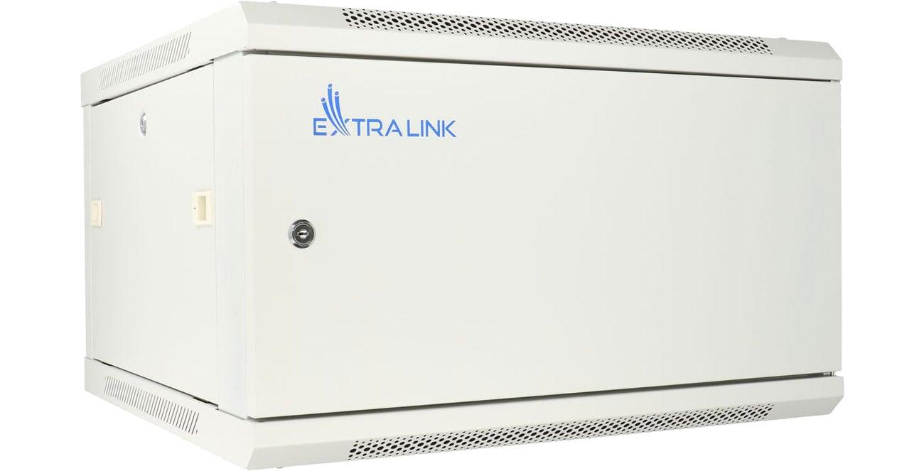 Szafa RACK ExtraLink Wisząca 19'' 6U 600x450mm (szara) EX.12998
