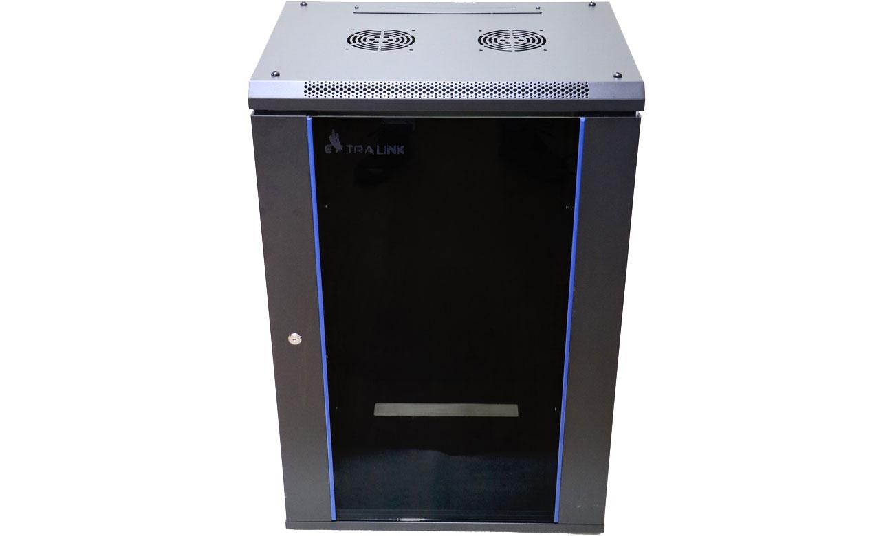 Szafa RACK ExtraLink Wisząca 19'' 15U 600x450mm (czarna) EX.14329