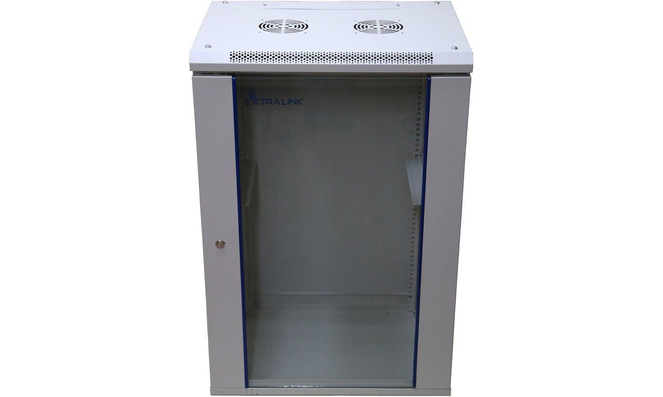 Szafa RACK ExtraLink Wisząca 19'' 15U 600x450mm (szara) EX.14336