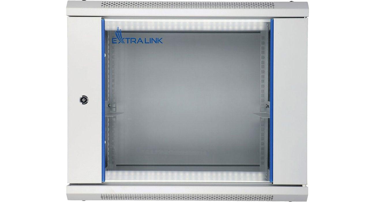 Szafa RACK Wisząca 19'' 9U 600x600mm (szara) EX.8581