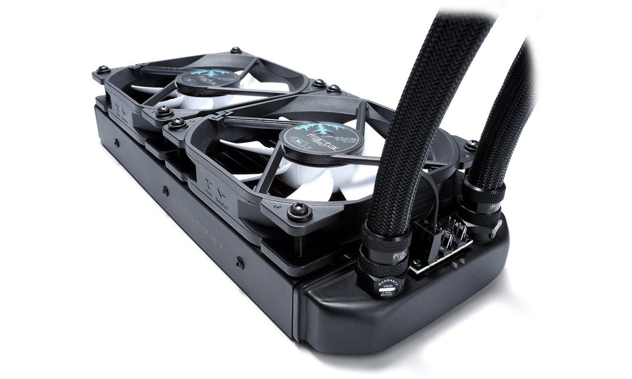 Fractal Design Celsius S24 Black Wentylatory i radiator