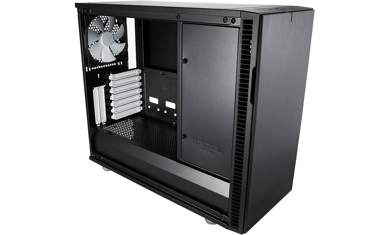 Fractal Design Define R6C Black Wnętrze obudowy
