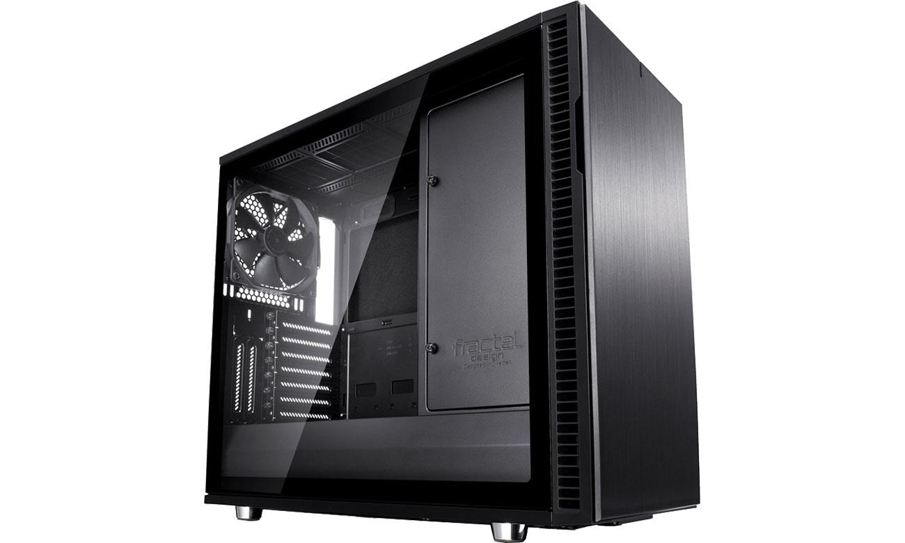 Obudowa Fractal Design Define R6C Blackout Tempered Glass FD-CA-DEF-R6C-BKO-TGL