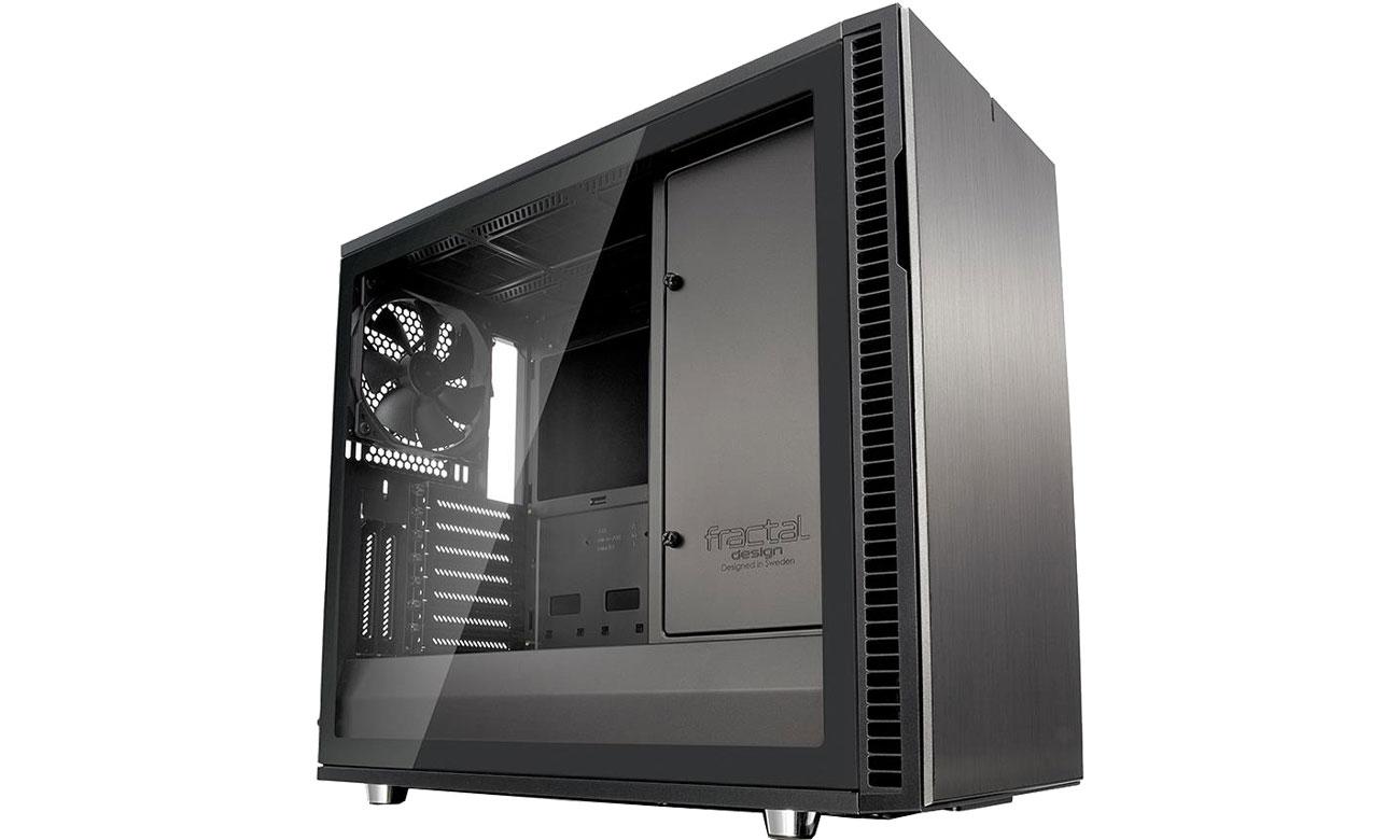 Obudowa Fractal Design Define R6C Gunmetal Tempered Glass FD-CA-DEF-R6C-GY-TGL